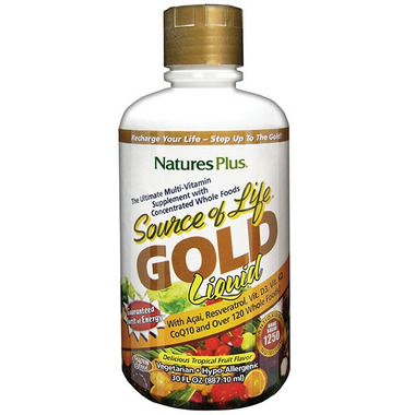 Nature\'s Plus Source of Life Gold Liquid