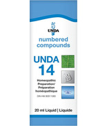 UNDA Numbered Compounds UNDA 14 Homeopathic Preparation