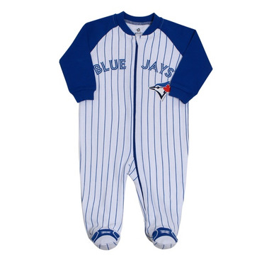 Toronto Blue Jays by Snugabye Sleeper Striped
