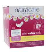 NatraCare Ultra Extra Pads with Wings