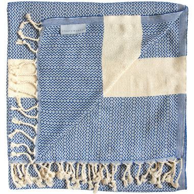 Stray & Wander Maya Towel Royal Blue
