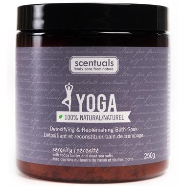 Scentuals Yoga Serenity 100% Natural Relaxing Bath Soak
