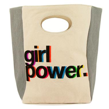 Fluf Girl Power Organic Lunch Bag