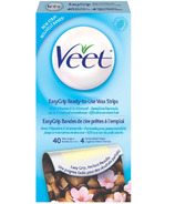 Veet Easy Grip Ready-to-Use Wax Strips