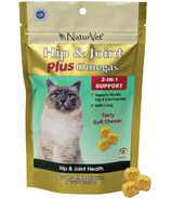 Naturvet Hip & Joint Plus Omegas Cat Soft Chews