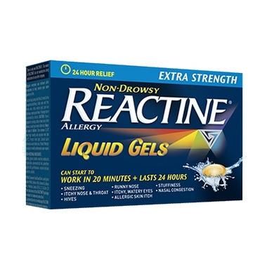 Reactine Allergy Extra Strength 24 Hour Liquid Gels