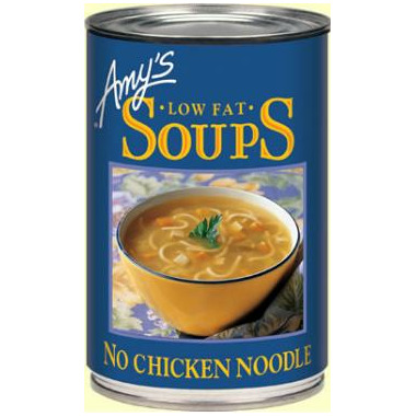 Amy\'s Organic No Chicken Noodle Soup