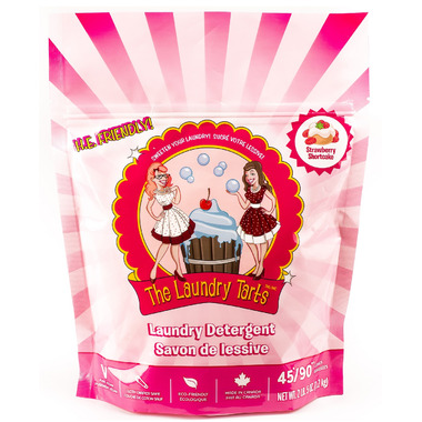The Laundry Tarts Laundry Detergent in Strawberry Shortcake