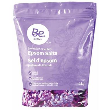 Be Better Lavender Epsom Salts