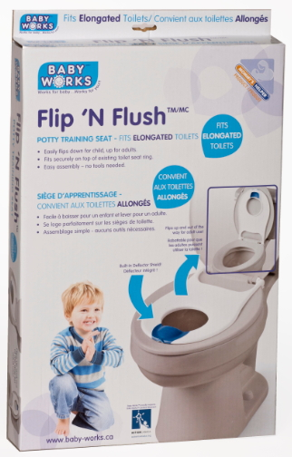Buy Baby Works Flip N Flush Elongated Potty Training Seat
