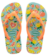 Havaianas Kids Fun Sandal Blue & Orange