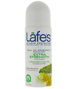 Lafe's Extra Strength Roll-On Deodorant with Coriander & Tea Tree