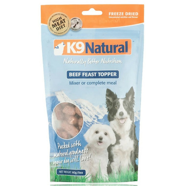 K9 Natural Beef Feast Toppers