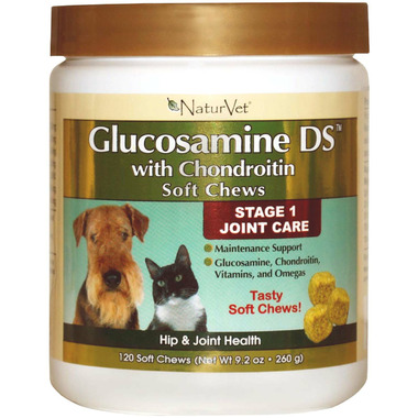 Naturvet Glucosamine DS with Chondroitin Soft Chews
