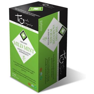 Touch Organic Mild Mint Green Tea