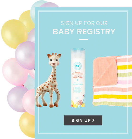 Well.ca's Baby Registry