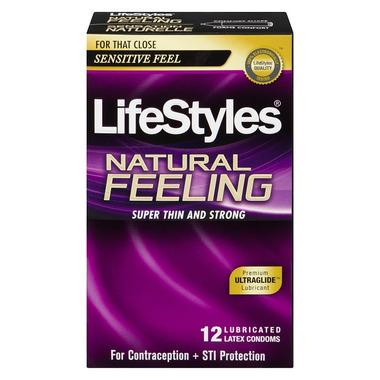Lifestyles Natural Feeling Condoms