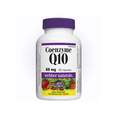 Webber Naturals Coenzyme Q Review