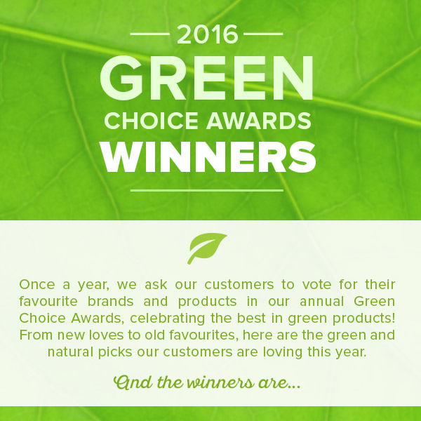 Green Choice Awards Winnersp at Well.ca