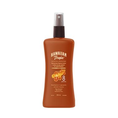 Hawaiian Tropic Spray Lotion Sunscreen SPF 8
