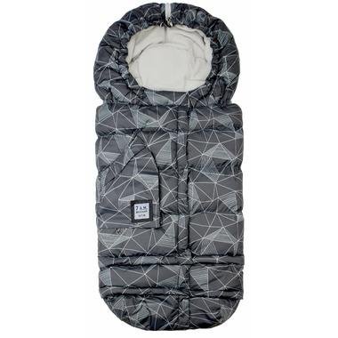 7 A.M Enfant Blanket 212 Evolution Black Geo