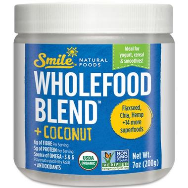 Smile Natural Foods Wholefood Blend Coconut