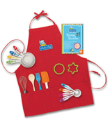 Mindware Playful Chef Baking Set With Red Apron