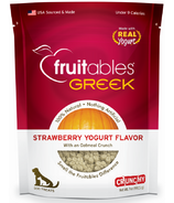 Fruitables Greek Crunch Dog Treats Strawberry Yogurt Flavour