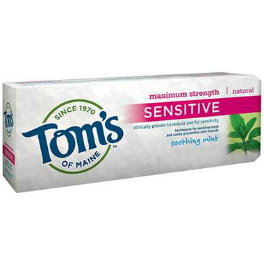 Tom\'s of Maine Maximum Strength Sensitive Fluoride Toothpaste
