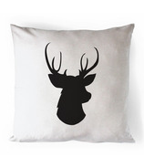 Printing Life Canada Oh Deer Canvas Pillow