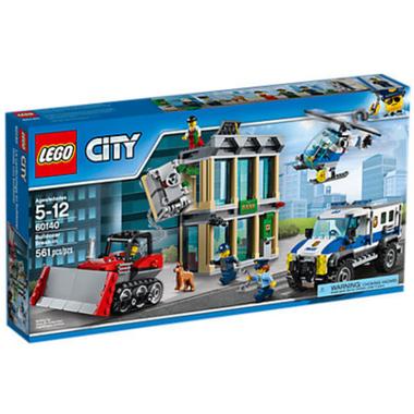 LEGO City Bulldozer Break-in