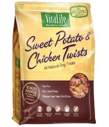 VitaLife Sweet Potato & Chicken Twists All Natural Dog Treats