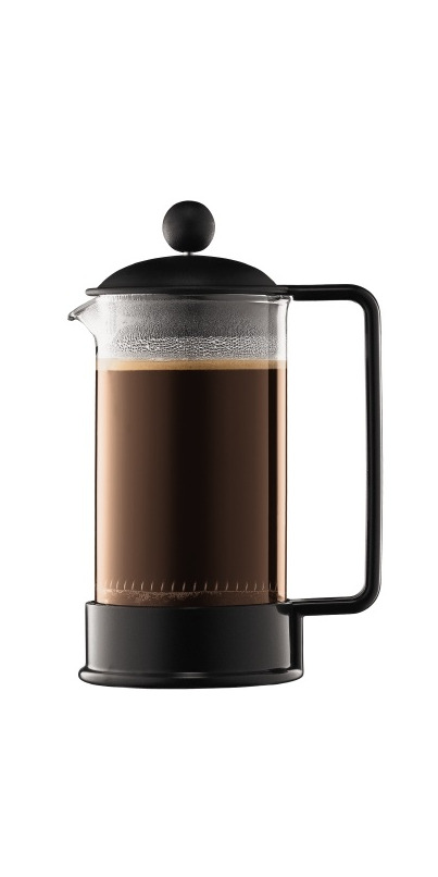 buy bodum brazil french press coffee maker black at free shipping 35 in canada. Black Bedroom Furniture Sets. Home Design Ideas
