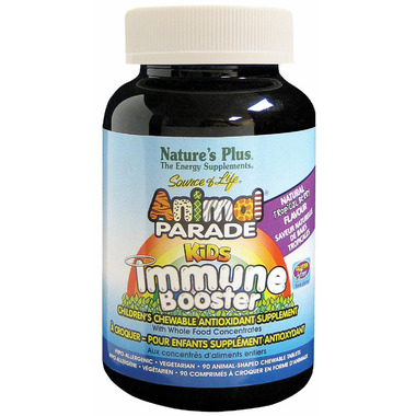 Nature\'s Plus Animal Parade Kids Immune Boost Tropical Berry