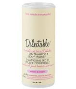 Be Delectable Lemon & Cream Dry Shampoo & Body Powder