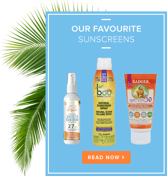 Our Favourite Sun Screen