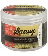 Saavy Naturals Sugar Scrub Tahitian Vanilla & Kukui