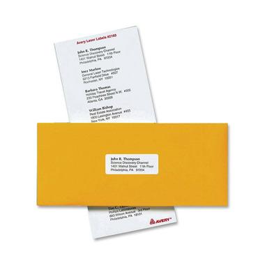Avery Mini-Sheets Laser/Inkjet Mailing Labels