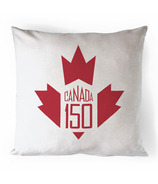 Printing Life Canada Canada 150 Red Canvas Pillow