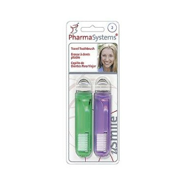 PharmaSystems Travel Toothbrushes