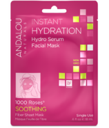 ANDALOU naturals Instant Hydration Facial Sheet Mask