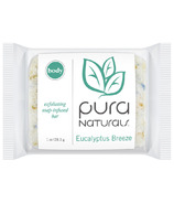 Pura Naturals Body Soap-Infused Sponge Eucalyptus Breeze
