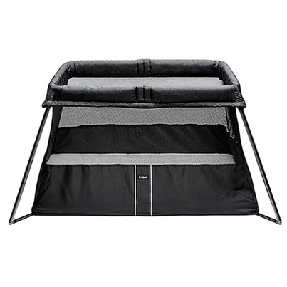 buy babybjorn travel crib light black from canada at free. Black Bedroom Furniture Sets. Home Design Ideas