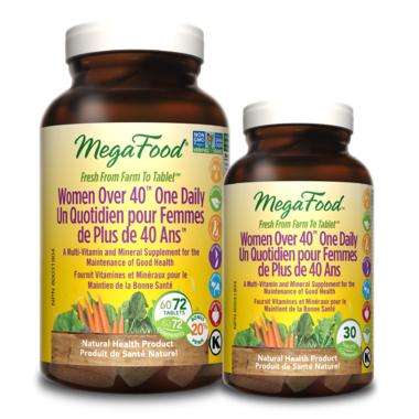 MegaFood Women Over 40 One Daily Multi-Vitamin Bonus Pack