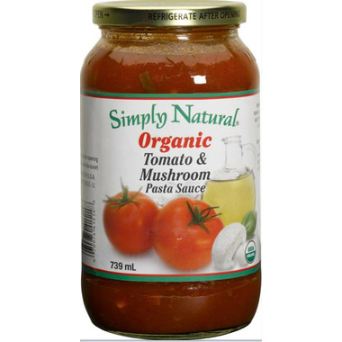Simply Natural Organic Tomato & Mushroom Pasta Sauce