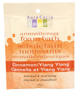 Aura Cacia Aromatherapy Cinnamon & Ylang Ylang Foam Bath