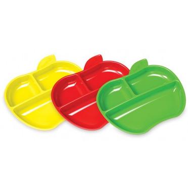 Munchkin Lil\' Apple Plates