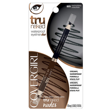 CoverGirl Trunaked Waterproof Eyeliner Duo in Mocha/Ebony
