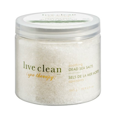 Live Clean Spa Therapy Soothing Dead Sea Salts