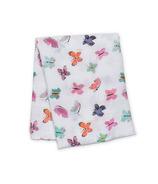 Lulujo Butterfly Muslin Swaddling Blanket